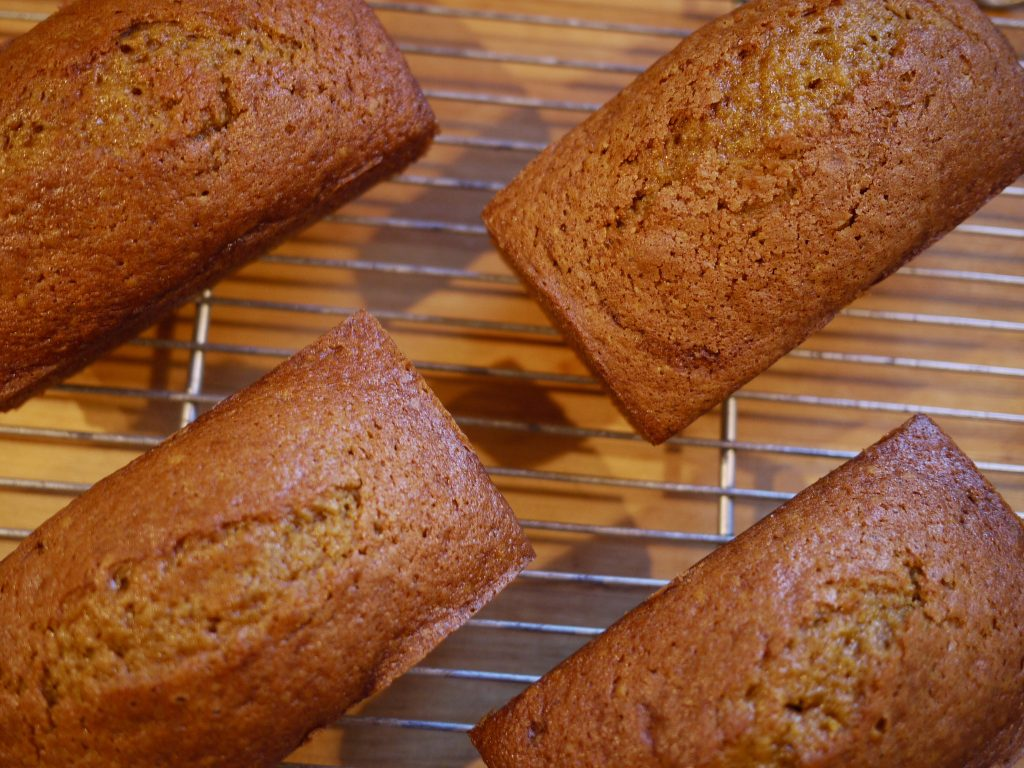 Pumpkin bread is a fall classic and always a favorite