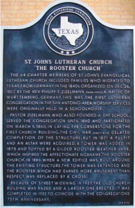 St John's Lutheran Church has strong historical roots in San Antonio