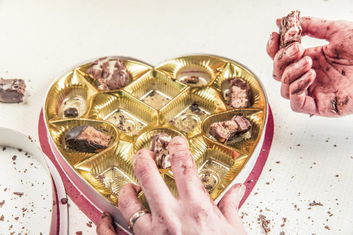 Finding love in a candy box of assorted chocolates