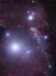 The Witch Head Nebula is a reflection nebula located in the Eridanus constellation.