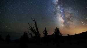 Milky Way within stars at night are harder to find because of light pollution