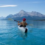 Experiencing the thrill of adventure on a kayak