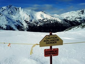 In the mountains, avalanche is the most serious threat to life and property; therefore, it is important for winter sport enthusiasts to be aware of the dangers and take steps to reduce the risks.