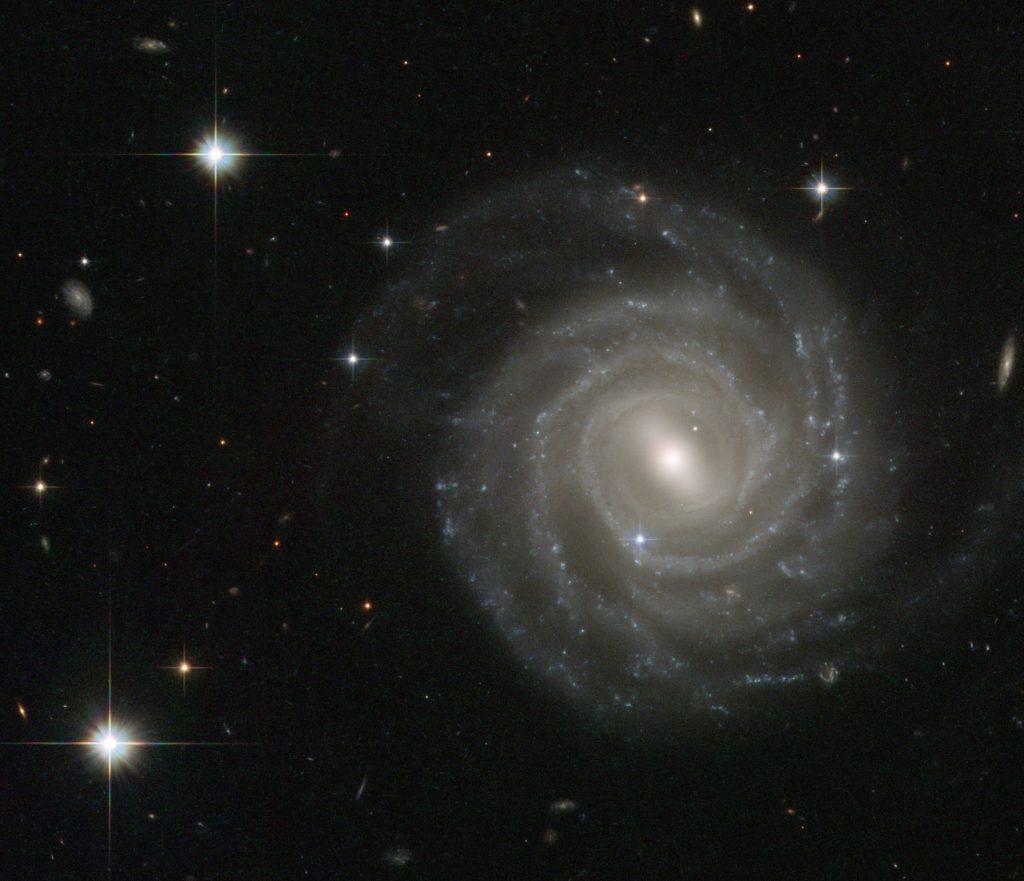 ESA/Hubble & NASA image of Barred Spiral galaxy UGC 12158