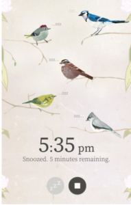 Wake up to beautiful birdsong with a free alarm app
