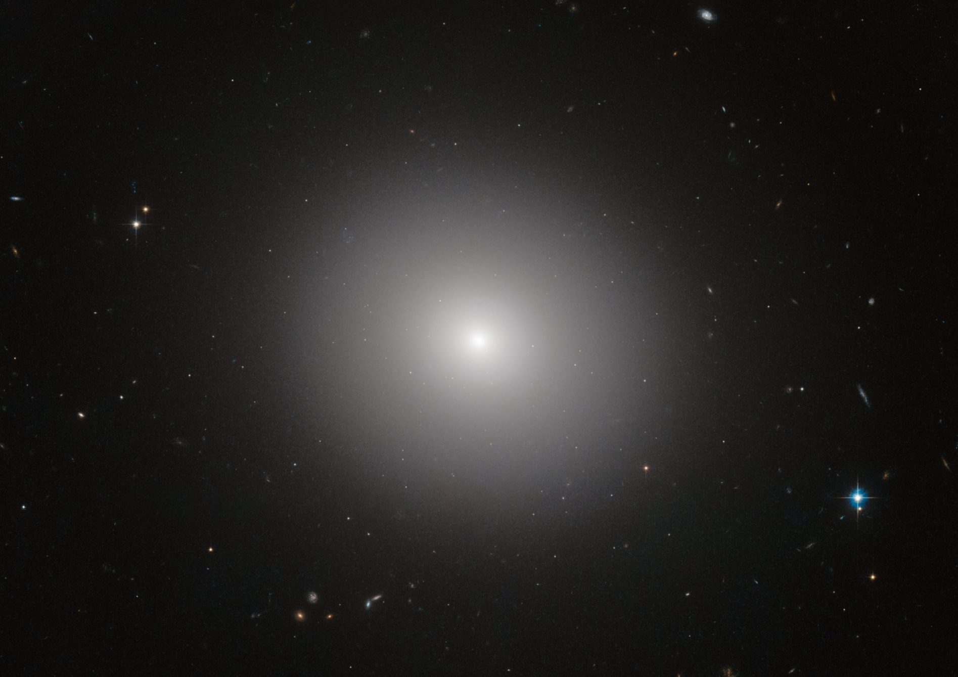ESA/Hubble & NASA image of elliptical galaxy IC 2006