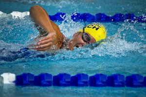 Watch live and free swimming competition, including members of the USA Swimming Team and Olympic medalists
