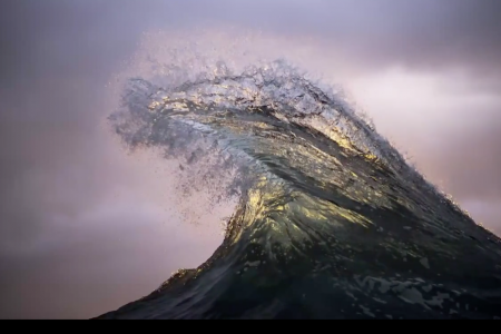 Ray Collins seascape photography and Armand Dijicks cinemagraphs combine to create a view of the ocean you've never seen before in video format