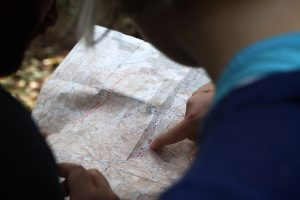 The sport of orienteering uniquely challenges the mind and body