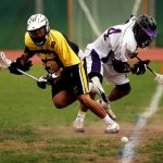 Field lacrosse is a full contact outdoor men's sport with a long history
