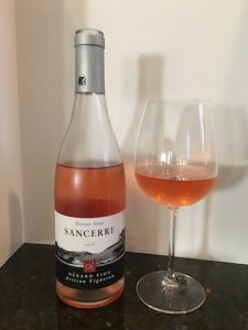 Sancerre is an easy to drink white wine, and this rose is really the perfect glass for a warm spring day.