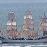 Tall ships from all over the world visit Canadian ports in celebration.