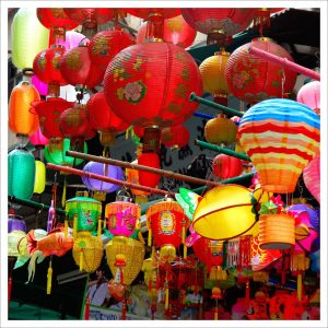 Chinese lanterns in all shapes, sizes and colors have become a beautiful symbol of the Mid-Autumn Festival.