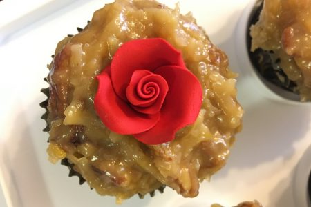 Everybody loved the German Chocolate Cupcakes made with traditional coconut-pecan frosting.
