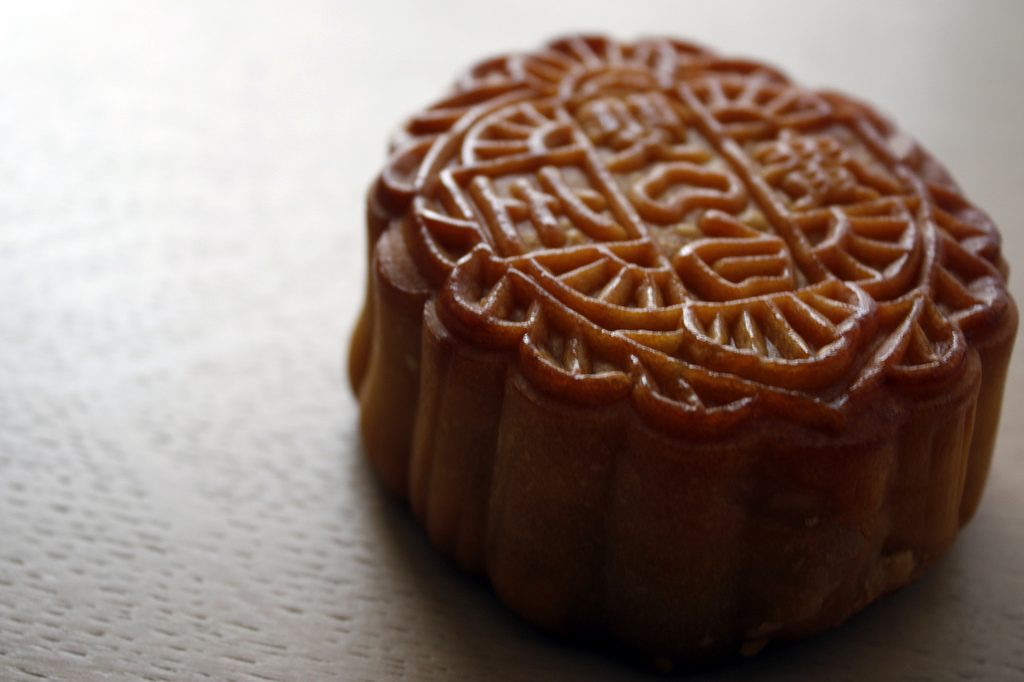 The making, sharing and eating of mooncakes is a hallmark tradition of the Mid-Autumn Festival.