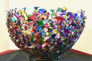 Arts and Crafts Confetti Bowl: Find your passion and the joy of creating a work of art here at On2In2™