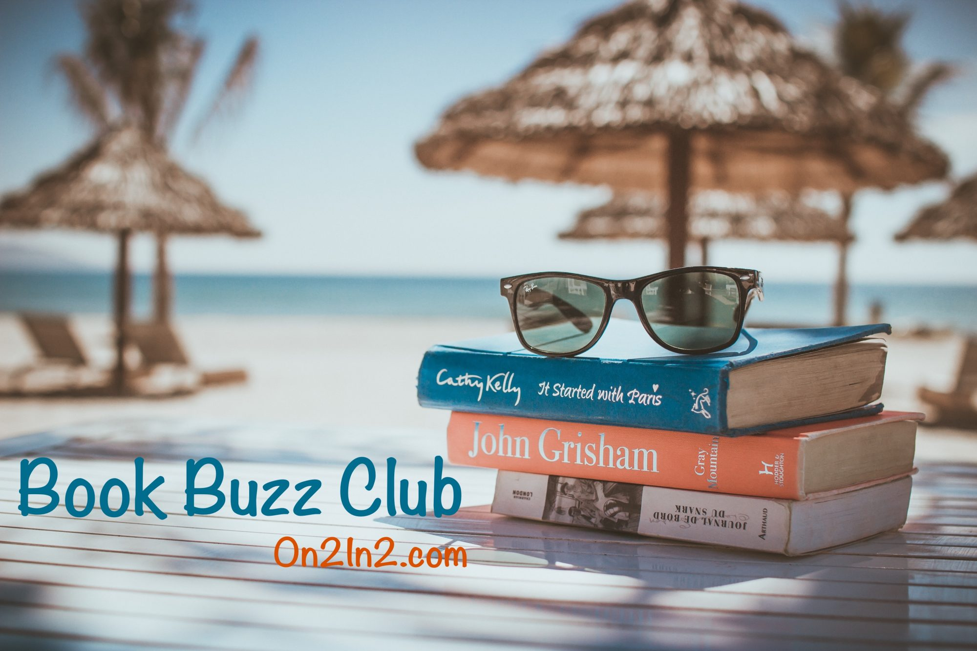 At the Book Buzz Club On2In2™, book lovers share their favorite reads and exchange thoughts and ideas about the next book to read.