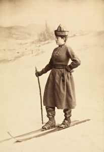 Eva Sars Nansen was an avid cross country skier and influential 19th century voice for women's right to participate in winter sports.