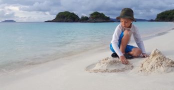 See inspiring sandcastles and join the fun by creating a work of art on the beach.