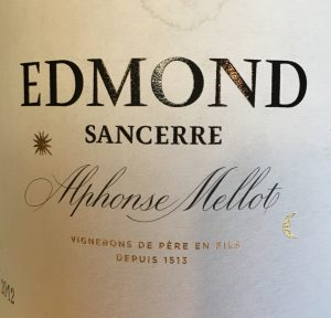 At On2In2™, we love Sancerre, and Edmond Sancerre from Alphonse Mellot estate is a Flabby Wine Club favorite.